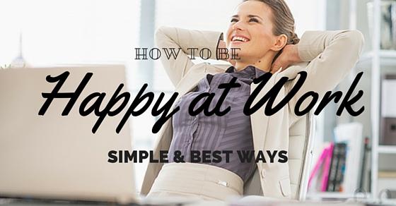 Happier at Work Ways