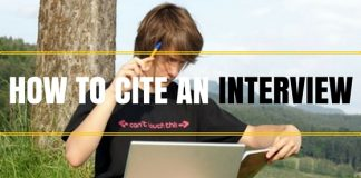 How to Cite Interviews