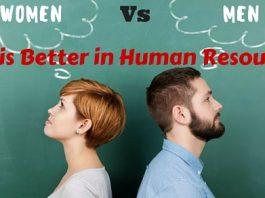 Human Resources Men Vs Women