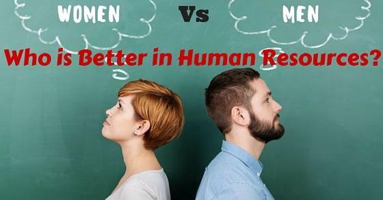 Human Resources Men Vs Women