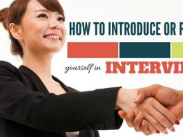 Introduce or Present yourself in Interviews
