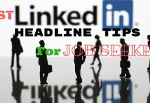 LinkedIn Headline Tips for Job Seekers