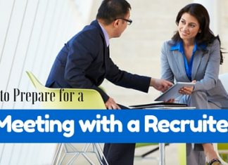 Meeting with a Recruiter
