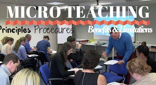 Micro Teaching Process Method