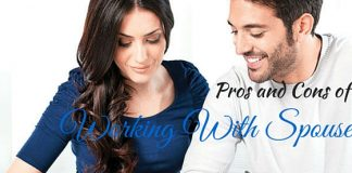 Working With Spouse Pros Cons