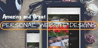 Amazing Personal Website Designs