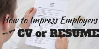 Impress Employers with CV or Resume