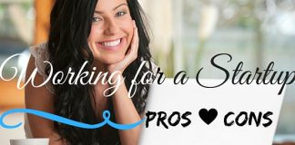 Working for Startup Pros Cons