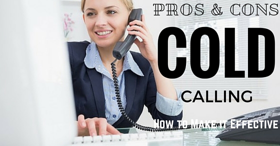 Cold Calling Pros Cons