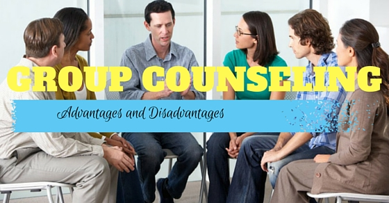 Group Counseling Advantages Disadvantages