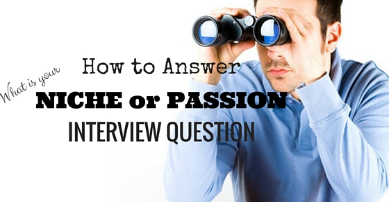 What is your niche or passion