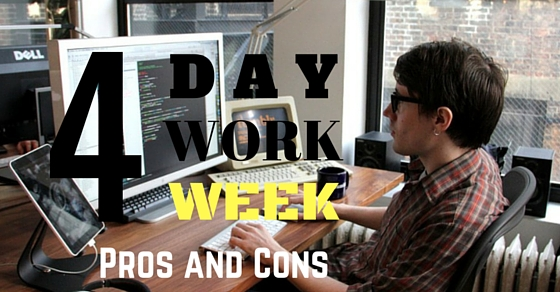 4 Day Work Week Pros Cons