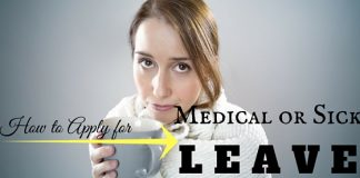 Applying Medical or Sick Leave