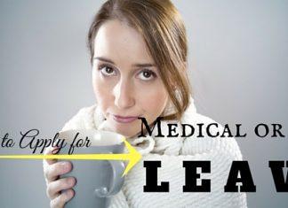 Applying Medical or Sick Leave