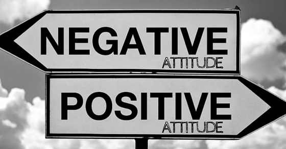 Change Negative Attitude to Positive