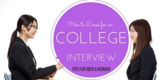 College Interview Dressing Tips