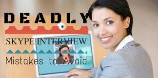 Deadly Skype Interview Sins