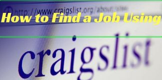 Finding Job Using Craigslist