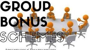 Group Bonus Schemes Advantages Disadvantages