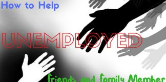 Helping Unemployed Friends Family Member