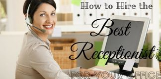 Hire Receptionist for Ofice