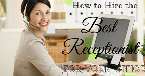 Hire a Receptionist for Ofice
