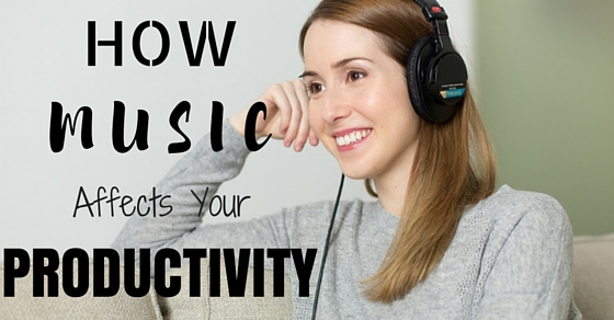 How Music Affects Productivity