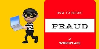 How Report Fraud at Workplace