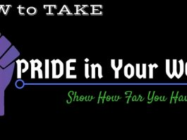 How Take Pride in Your Work