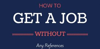 How to Get Job Without Reference