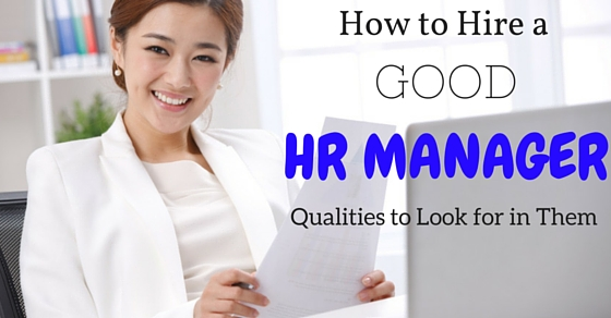How to Hire HR Manager