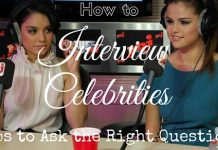 How to Interview Celebrities