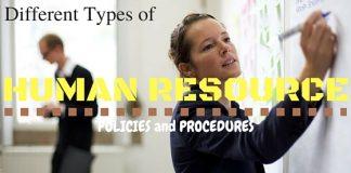 Human Resource Policies Procedures