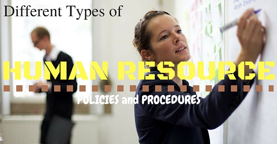 Human Resource Policies Procedures