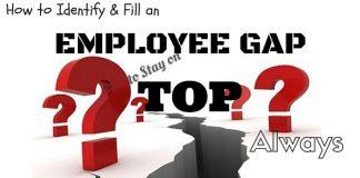 Identify Fill Employee Gap