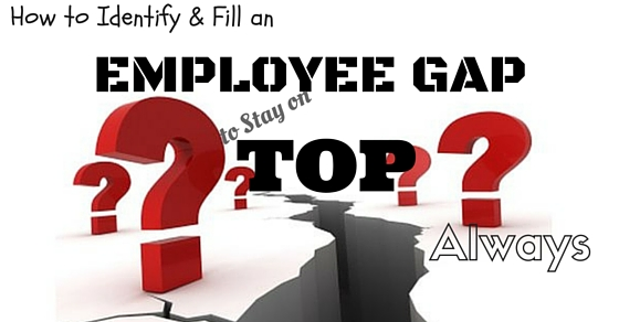 Identify Fill Employee Gap