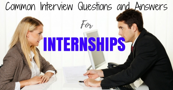 Internship Interview Questions Answers