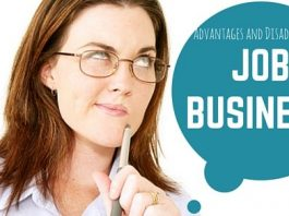 Job Business Advantages Disadvantages