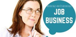 Job Business Advantages Disadvantages