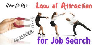 Law of Attraction for Job Search