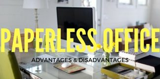 Paperless Office Advantages Disadvantages