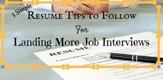 Resume Tips to Land More Interviews