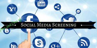 Social Media Screening Pros Cons