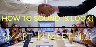 Sound Smart in Meetings