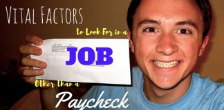Things to Look for in Job