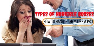 Types of Horrible Bosses