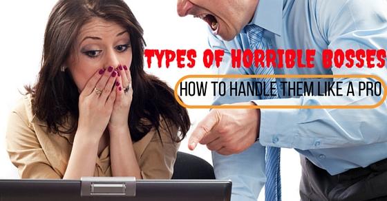 Types of Horrible Bosses