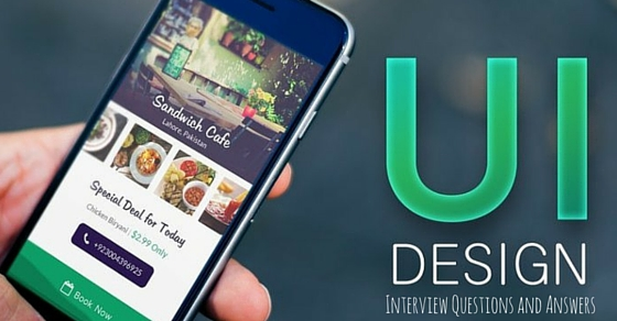 UI Designer Interview Questions Answers