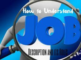 Understand Job Description and Roles