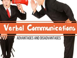 Verbal Communications Advantages Disadvantages
